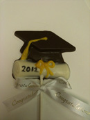 Graduation Cap and Diploma Pop