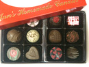 Valentine Chocolate Assortment Box of 12