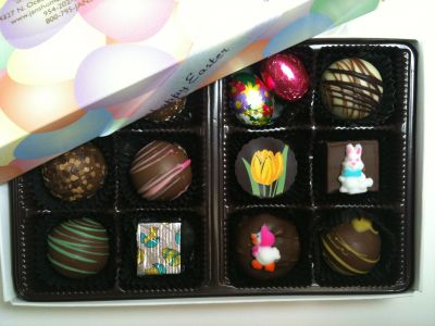 Easter Chocolate Assortment Box of 12