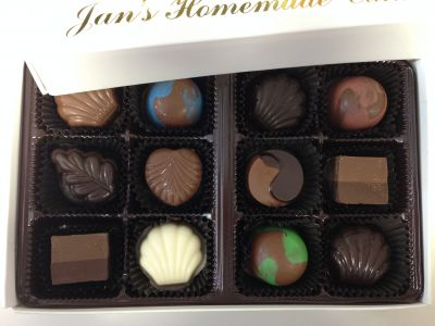 Jan's Select Truffles Box of 12