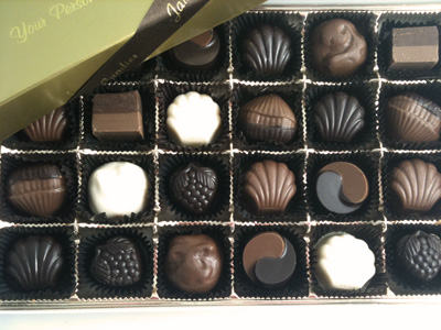 Jan's Select Truffles Box of 24