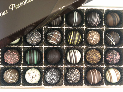 Traditional Truffle Assortment Box of 24