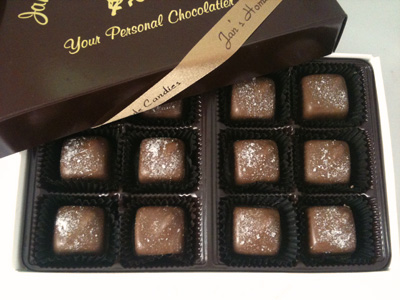 Sea Salt Caramels   Box of 12